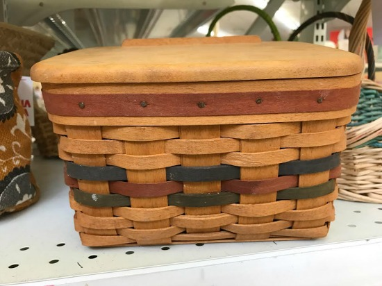 7e577b0912 Prices on the other used Longaberger baskets weren't much better…