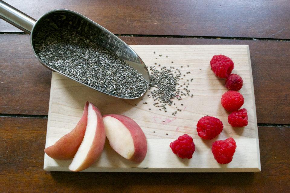 chia pudding ingredients