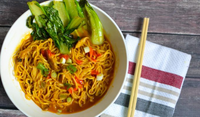 Healthy Vegan Ramen Soup Made Simple