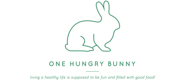one hungry bunny