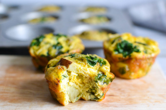 Basic Vegetable Frittata Muffins