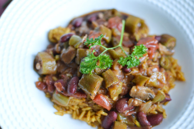 Simple and Delicious Vegan Gumbo