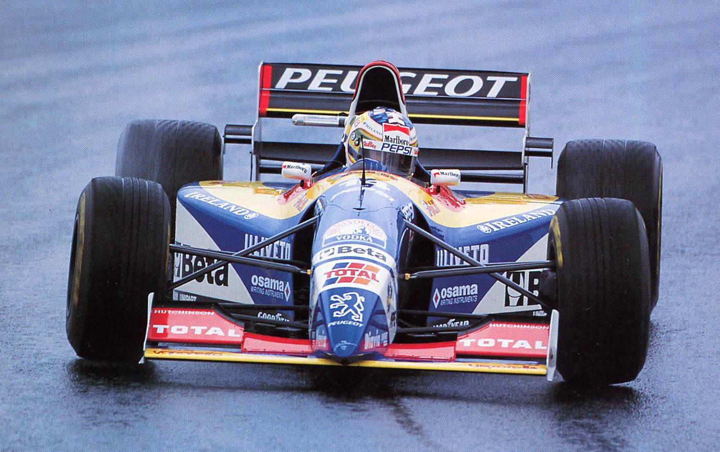 Rubens Barrichello Jordan 195 1995 One Image F1
