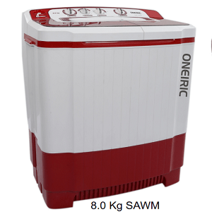 oneiric Semi Automatic Washing Machine 8.5kg