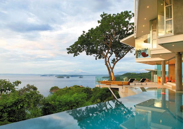 Cliff Home Floats Into The Seascape Of Costa Rica