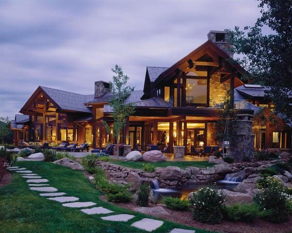 Bavarian Style Luxury Mountain Retreat In Aspen