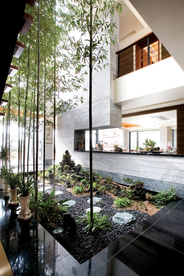 Interior Courtyard Garden Ideas   Kindesign