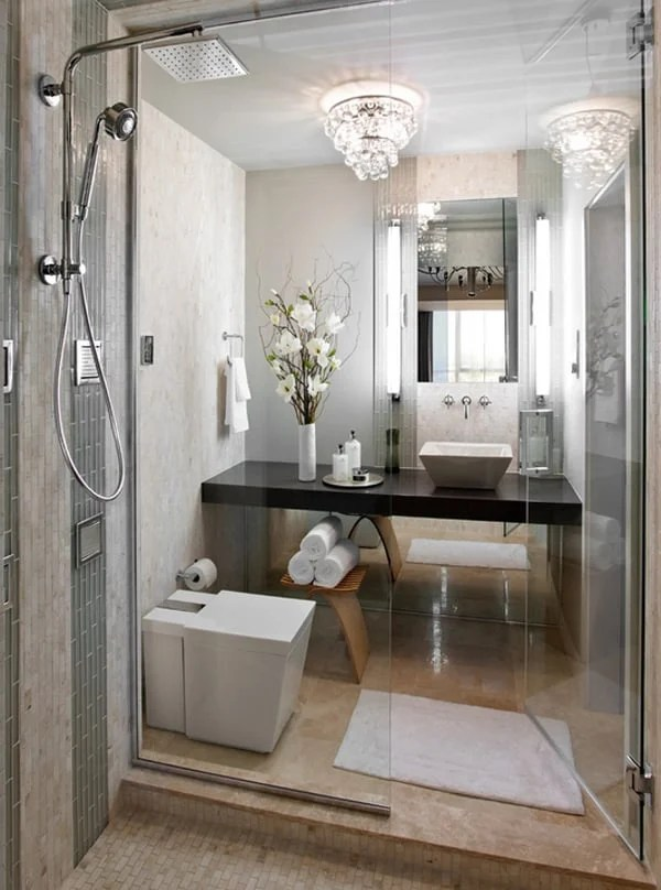 40 Stylish and functional small bathroom design ideas on Bathroom Ideas Small  id=55980