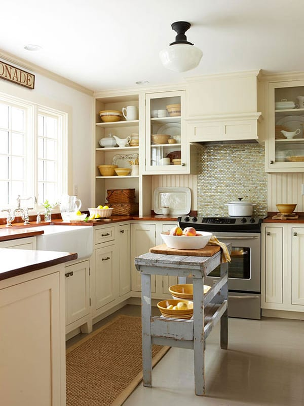 Small Kitchen Island Ideas Space Saving Apartment Therapy