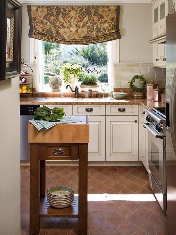 48 Amazing space-saving small kitchen island designs on Small Space Small Kitchen Ideas  id=47790