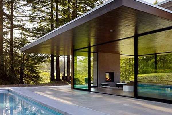featured posts image for Sustainable glass dwelling in Sonoma County: Marra Road