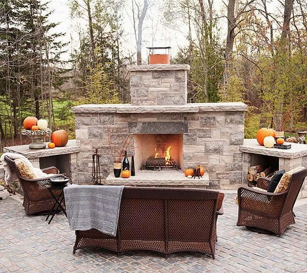 53 Most amazing outdoor fireplace designs ever on Amazing Outdoor Fireplaces id=35769