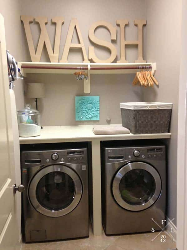 39 clever laundry room ideas that are practical and space efficient - Laundry Design Ideas