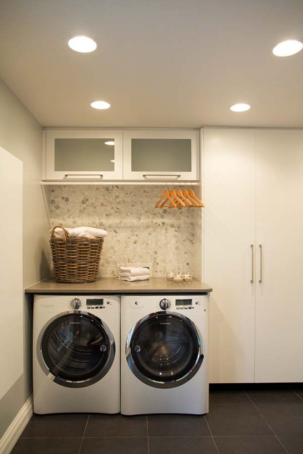 60 Amazingly inspiring small laundry room design ideas on Small Laundry Ideas  id=35441