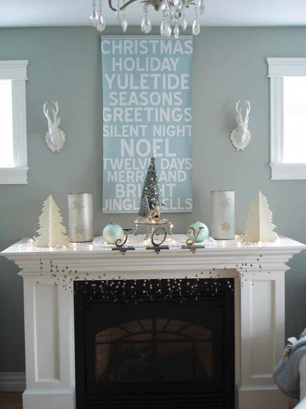 Decorating Ideas For Rentals: 50+ Absolutely Fabulous Christmas Mantel Decorating Ideas