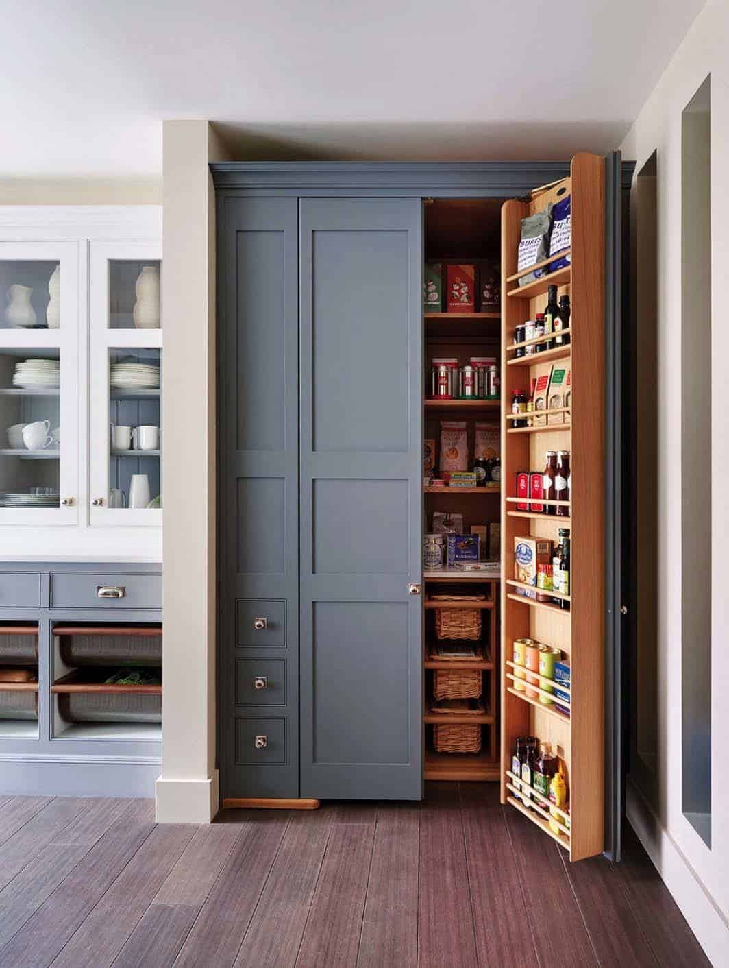 pantry kitchen cabinets 35 clever ideas to help organize your kitchen pantry 1412