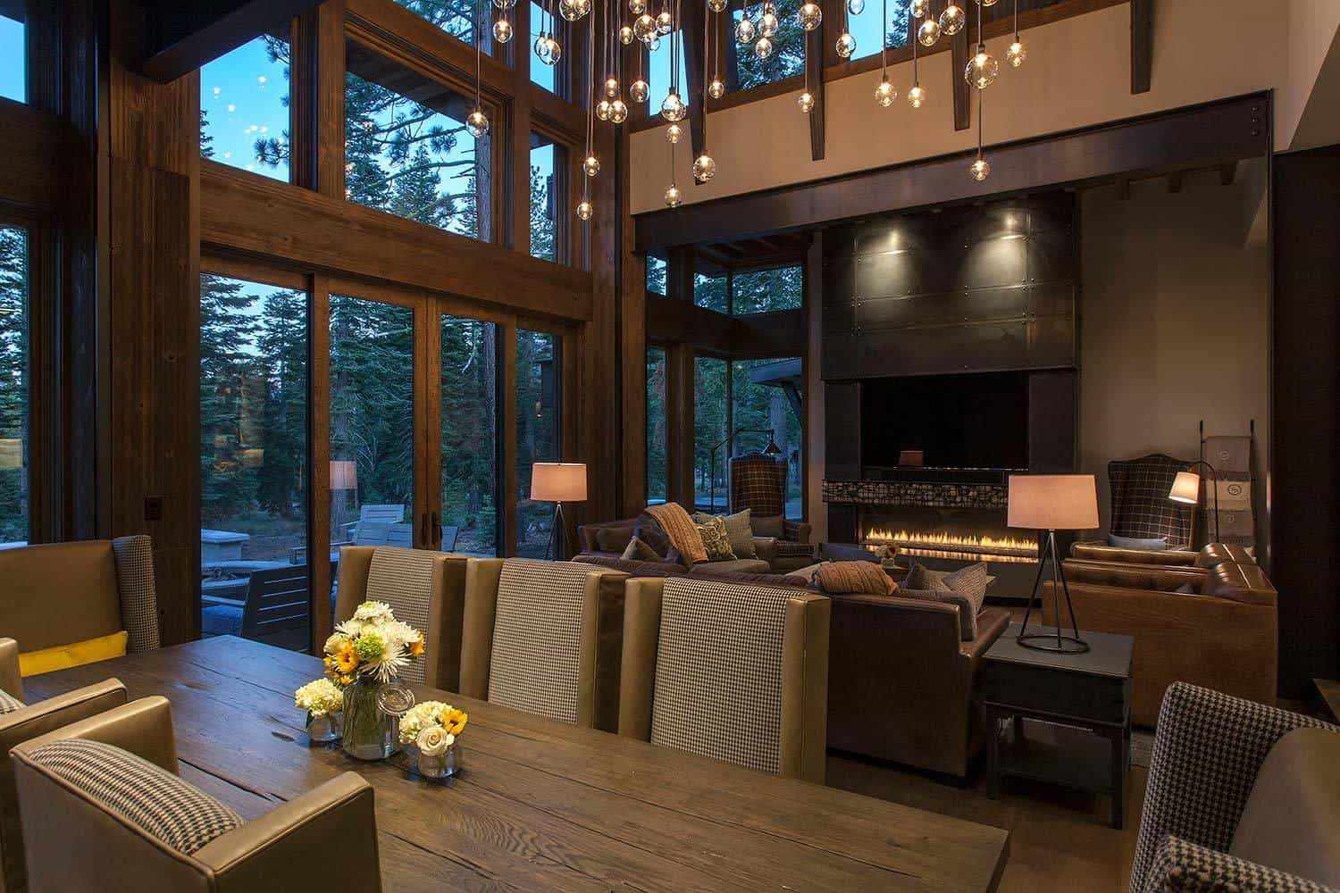 Lake Tahoe getaway features contemporary barn aesthetic on Interior:ybeqvfpgwcq= Modern House Ideas  id=24502