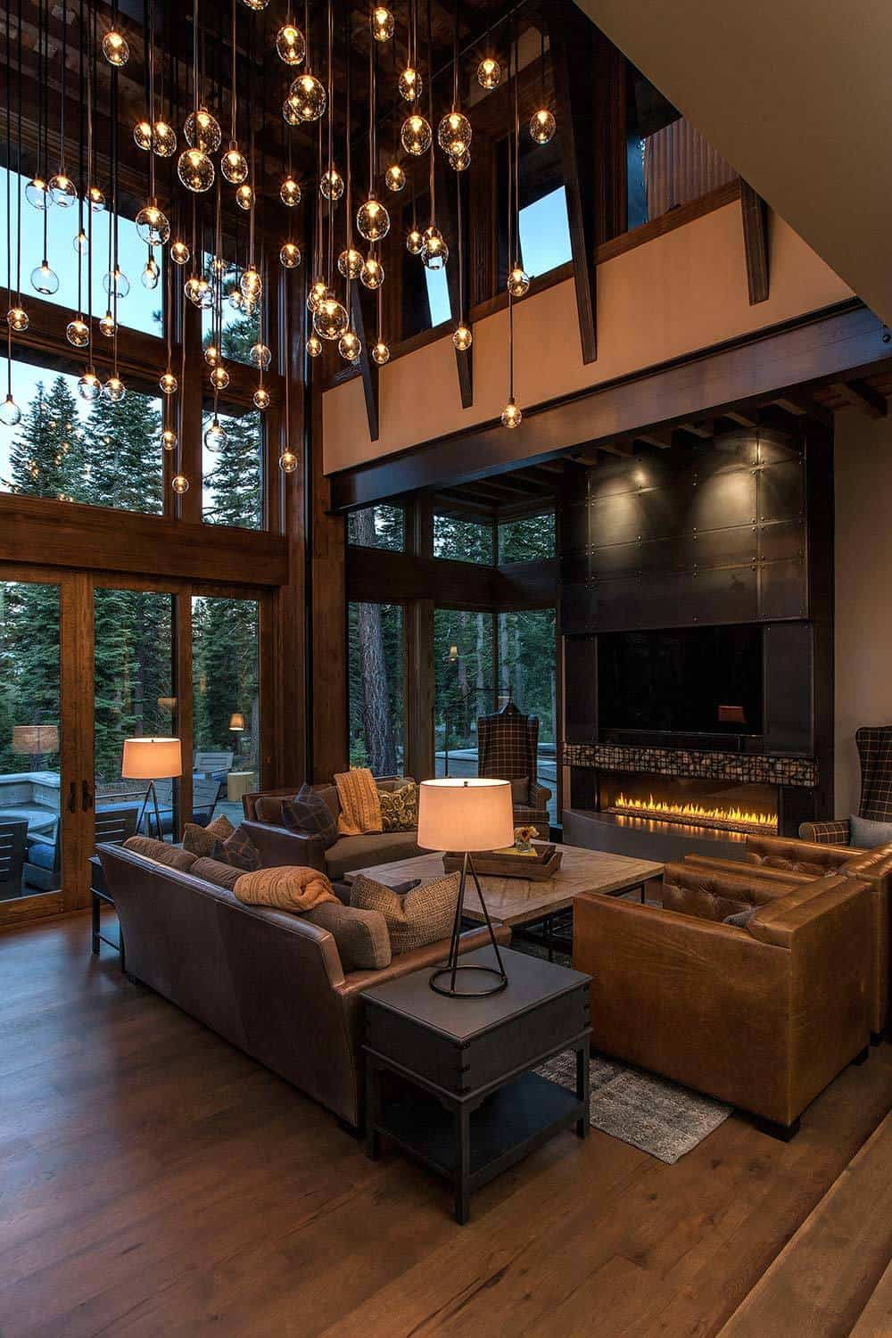 Lake Tahoe getaway features contemporary barn aesthetic on Interior:ybeqvfpgwcq= Modern House Ideas  id=85104