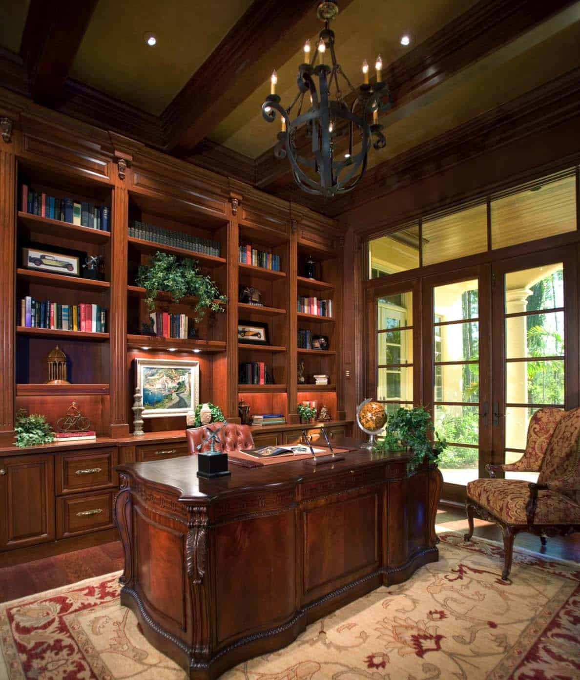 2016 Home Design Ideas: 28 Dreamy Home Offices With Libraries For Creative Inspiration