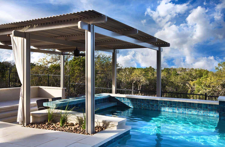 33 Mega-Impressive swim-up pool bars built for entertaining on Backyard Pool Bar Designs id=23668