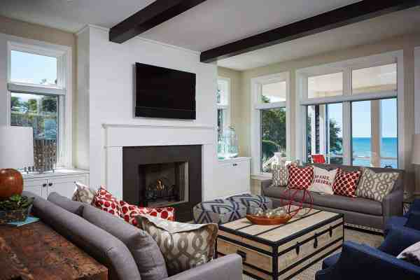 featured posts image for Charming shingle-style retreat with captivating views of Lake Michigan