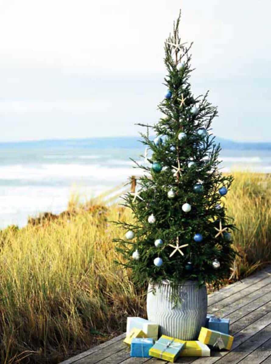 Beach Themed Christmas Stockings