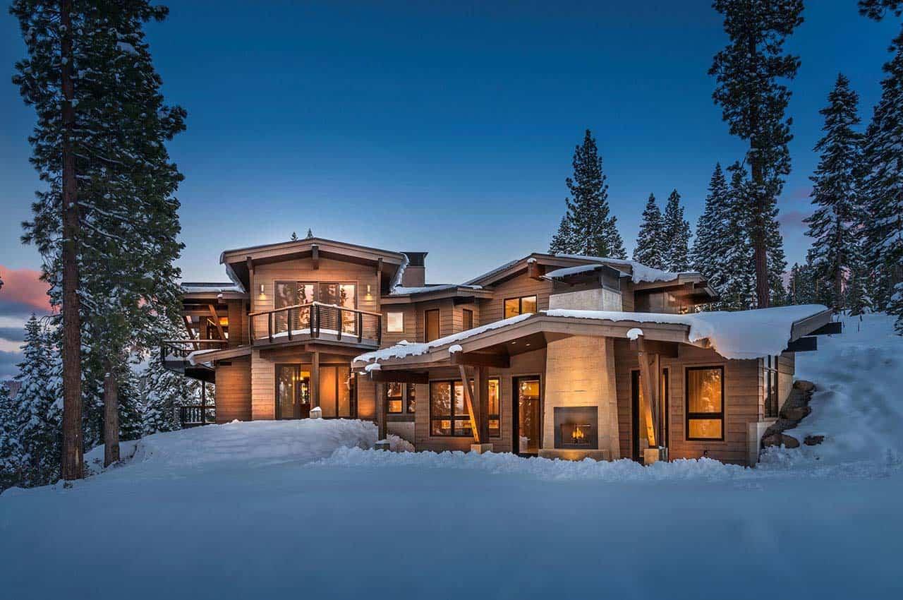 Mountain Modern Ski Retreat With Breathtaking Views In