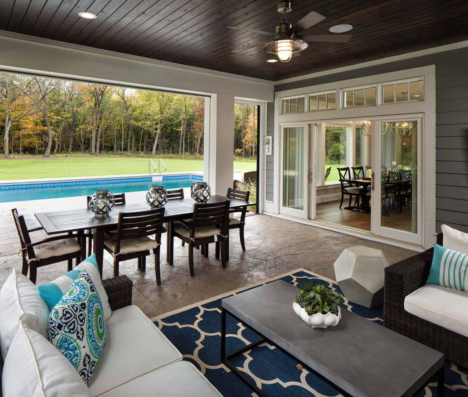 Backyard Porch Ideas: 38 Amazingly Cozy And Relaxing Screened Porch Design Ideas