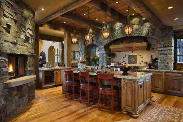 featured posts image for Handcrafted timber frame home with astonishing Rocky Mountain views