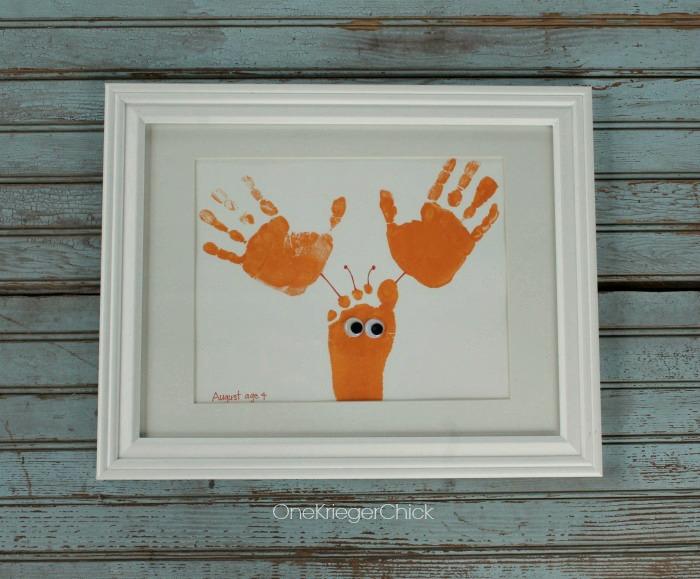 Lobster-Framed-Handprint-Art-OneKriegerChick.com
