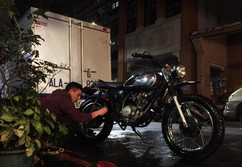 Motorcycle in Asia, Taipei Taiwan
