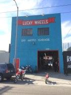 Lucky Wheels Garage, Oneland