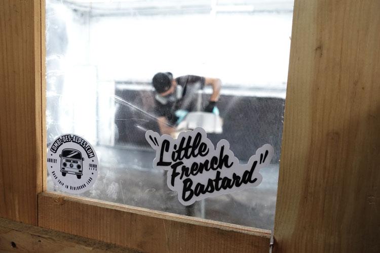 Little French Bastard, El Nervosa
