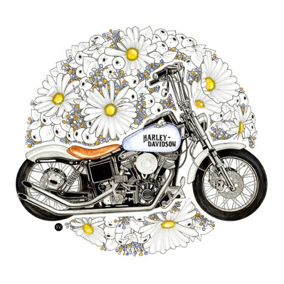 Sophie Varela, Harley-Davidson