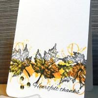 Paper craft project no. 86: Heartfelt thanks