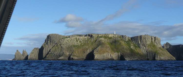 Tasman Island with Lighthouse