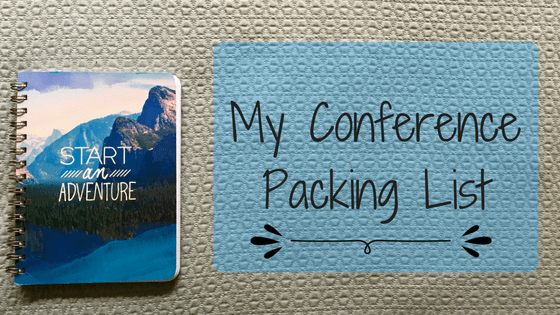 My Conference Packing List