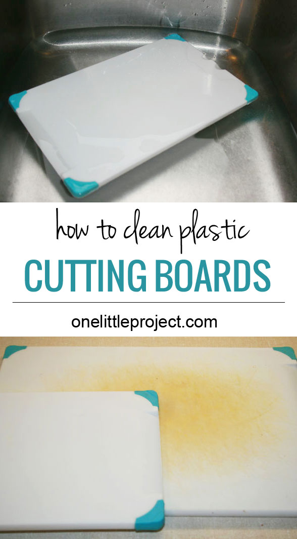 10 ways to really get your kitchen clean - how to clean your cutting boards.