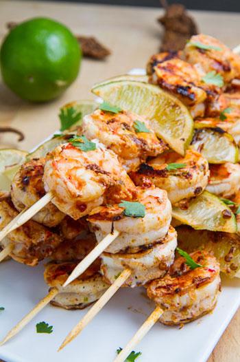 Shrimp-Skewers