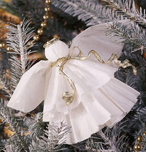 20 Beautiful Coffee Filter Crafts - Coffee Filter Angels