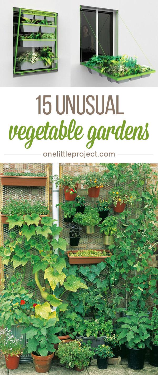 15 Unusual Vegetable Garden Ideas on Vegetable Garden Ideas For Backyard id=72170