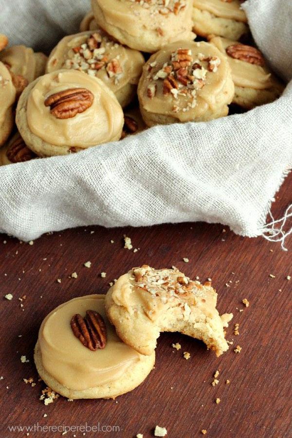 50+ Best Cookie Recipes - Brown Sugar Pecan Cookies