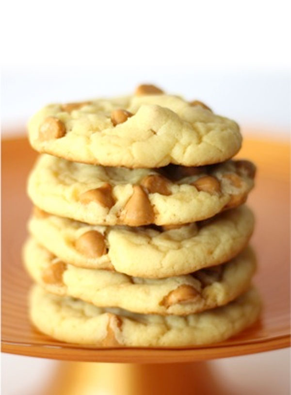 50+ Best Cookie Recipes - Butterscotch Cake Mix Cookies