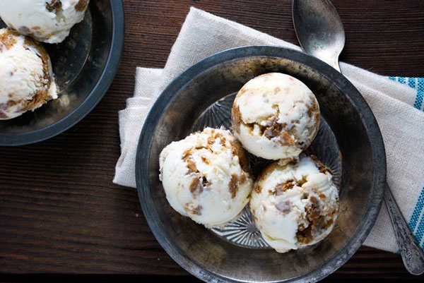 50+ Best Ice Cream Recipes - Gingerbread Cookie Dough Ice Cream