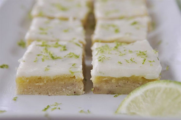 50+ Best Squares and Bars Recipes - Key Lime Bars