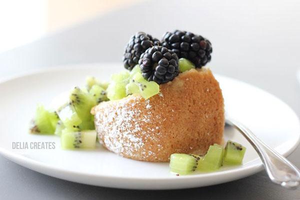 50+ Best Kiwi Recipes - Kiwi Shortcake with Whipped Coconut Cream
