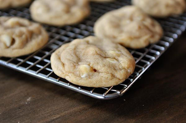 50+ Best Cookie Recipes - White Chocolate Macadamia Nut Cookies