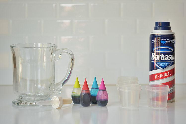 Shaving Cream Rain Clouds Stem DIY Education Tools