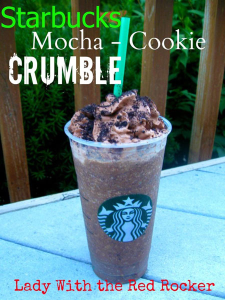 50+ Homemade Starbucks Recipes - Starbucks Mocha Cookie Crumble Frappuccino
