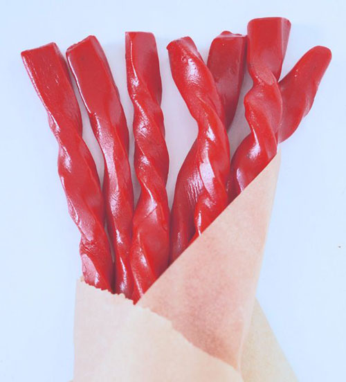 30+ Foods You Can Make Yourself - Gluten Free Red Cherry Licorice